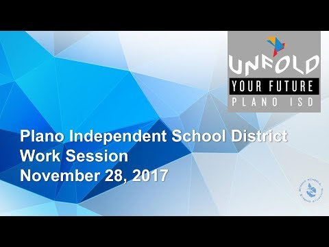 Work Session - November 28, 2017