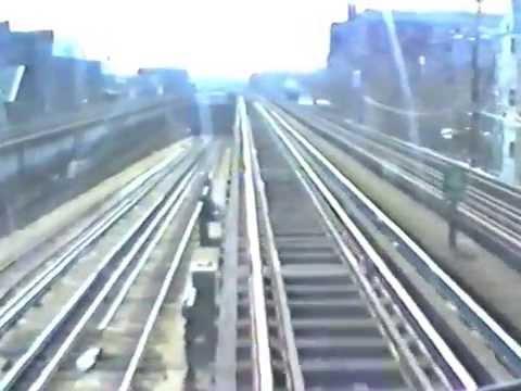 Chicago L (Subway) train trip 1991