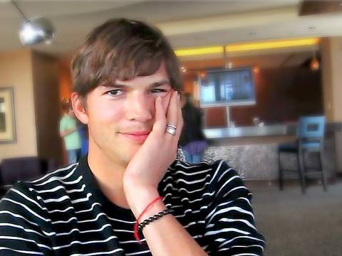 "Ashton Kutcher interview - ""Spread"" movie premiere in Las Vegas!! | iJustine"