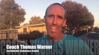 100 mile club coach thomas warner s 12 hour run for and with his kids