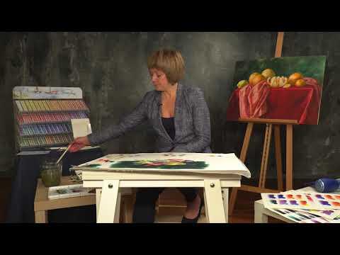 Elena Bazanova's watercolour masterclass. Lesson 7