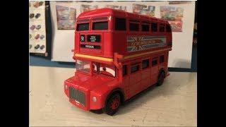 Disney Cars Topper Deckington the Third (Double Decker Bus) Review (Wayback Wednesday!)