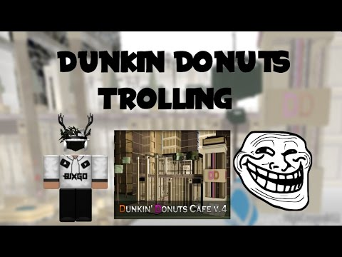 how to serve in roblox dunkin donuts