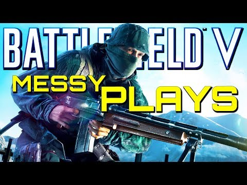Battlefield 5: Messy Plays FTW! (PS4 Pro Multiplayer Gameplay) thumbnail
