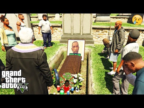 GTA 5 - I Attended CJ's FUNERAL (secret event)