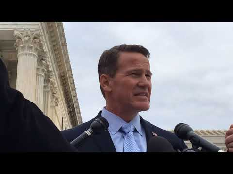 Ohio Secretary of State Jon Husted and Attorney Paul M. Smith discuss Ohio voting case at U.S. Su...
