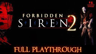 forbidden Siren 2  Full Game  Longplay Walkthrough No Commentary