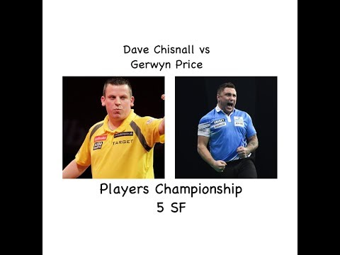 Dave Chisnall vs Gerwyn Price Players Championship 5 Semi Final