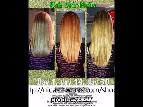 It Works Hair Skin And Nails Before And After YouTube