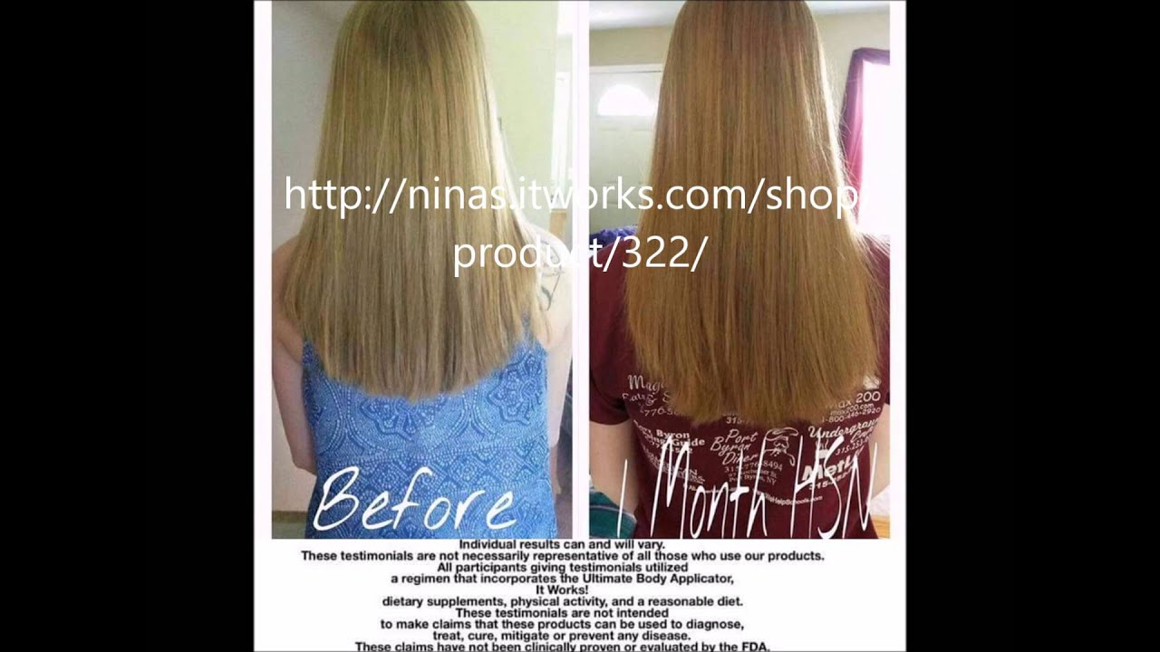 It Works Hair Skin And Nails\