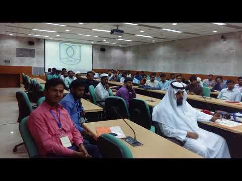 Prof. Mujeebul Rahman speaks about Modern Arabic Language in JNU.