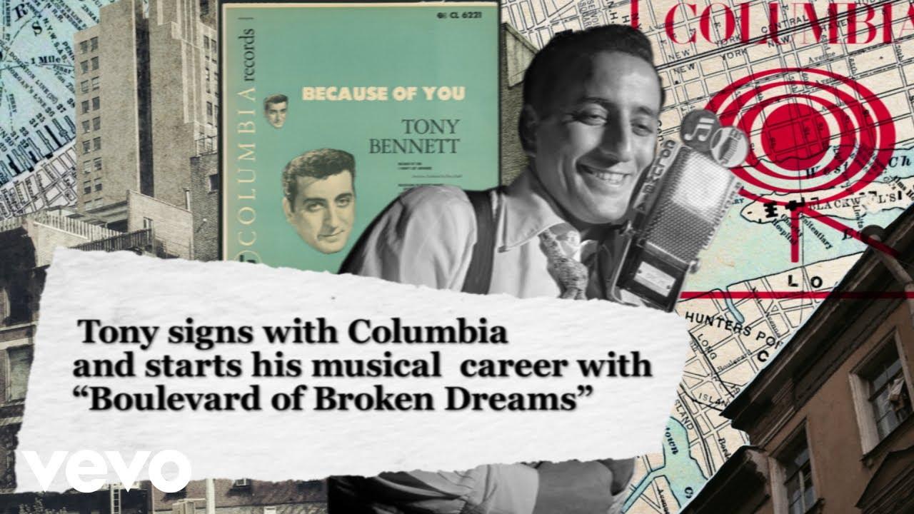 Tony Bennett - Boulevard Of Broken Dreams (70th Anniversary Celebration)