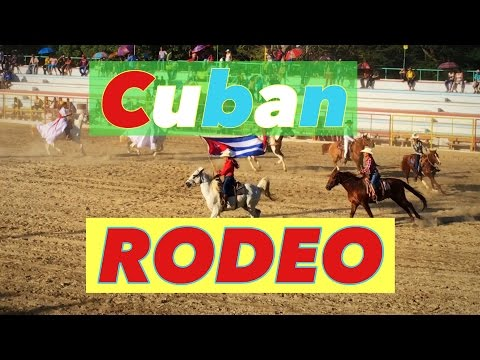 What to See in Cuba? International Rodeo Fair 4K