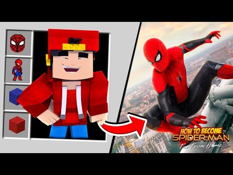 minecraft---how-to-become-spider-man-far-from-home!!