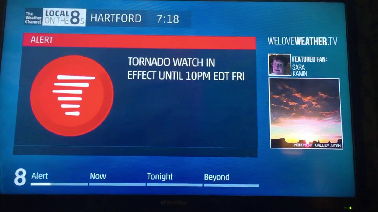 Local Weather Channel Weather Forecast : Severe t storm local on the s weather channel