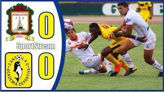 🤩RESUMEN GOLES DEBATE⚽️Ayacucho FC vs Academia Cantolao⚽️ Liga 1 Apertura Peru Cup 2019