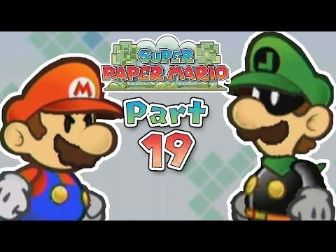 Super Paper Mario: Part 19 - The Mysterious Mr. L!