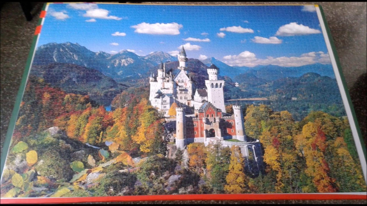 clementoni neuschwanstein 4000 pieces puzzle youtube. Black Bedroom Furniture Sets. Home Design Ideas