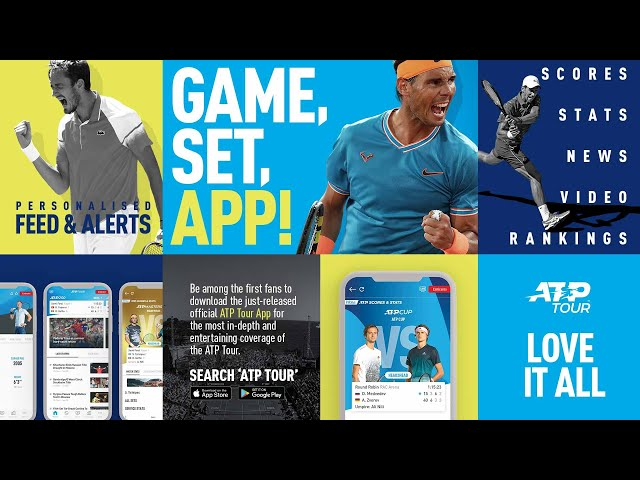 Get The Latest On The New ATP Tour App