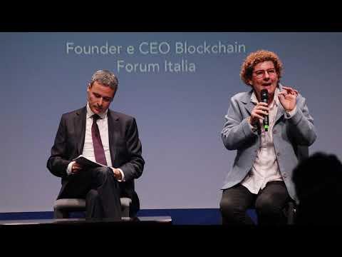 Blockchain Forum Italia - Pietro Azzara e Arianna Censi