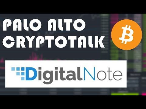 (XDN) DigitalNote (Palo Alto Crypto Talks) Dec 20, 2017