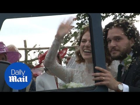 Just Married!: Rose Leslie And Kit Harrington Tied The Knot
