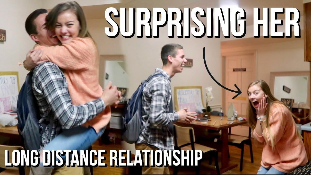 Funny Memes About Long Distance Relationships : Surprising her surprising girlfriend in long distance