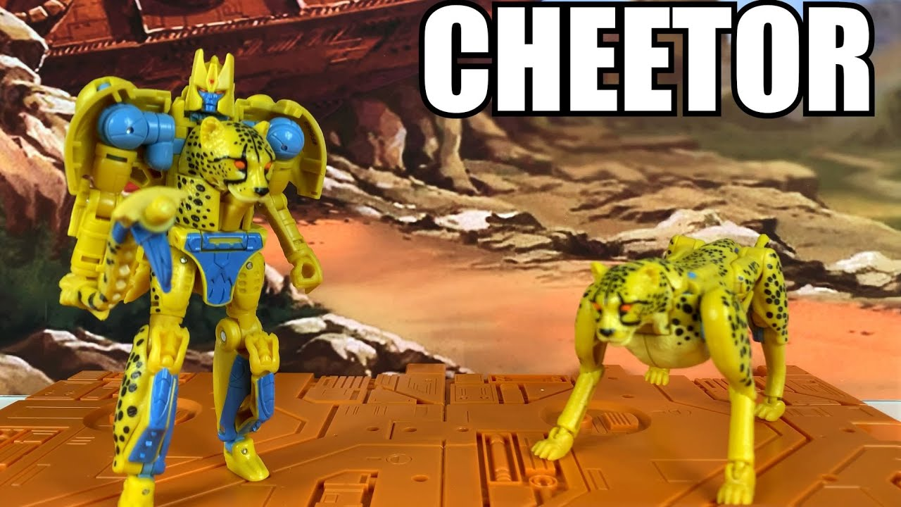 Transformers KINGDOM CHEETOR Unboxing and Review By Enewtabie