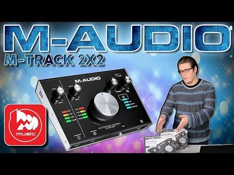 M-AUDIO M-TRACK 2X2  и M-TRACK 2x2M - новые звуковые карты от М-аудио
