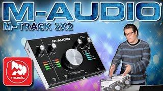 M-AUDIO M-TRACK 2X2 і M-TRACK 2x2M - нові звукові карти від М-аудіо