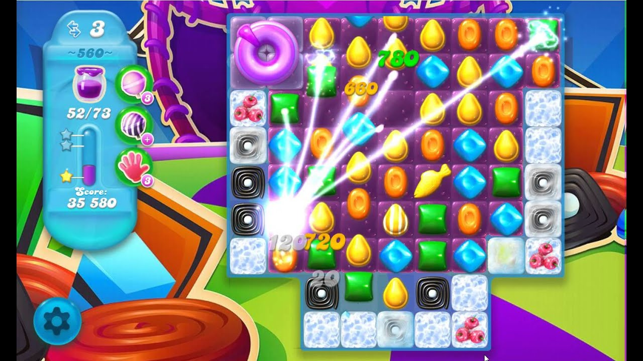 candy crush saga level 560