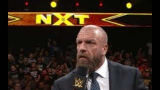 HHH NXT on USA Media Call Review & More News!