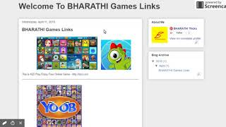 Best Blogspot To Play Online Free Games Sites