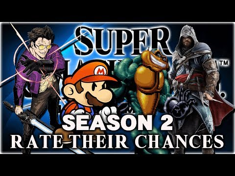 Super Smash Bros Ultimate - Rate Their Chances S2 [9] Paper Mario, Travis, Ezio & The Battletoads! thumbnail