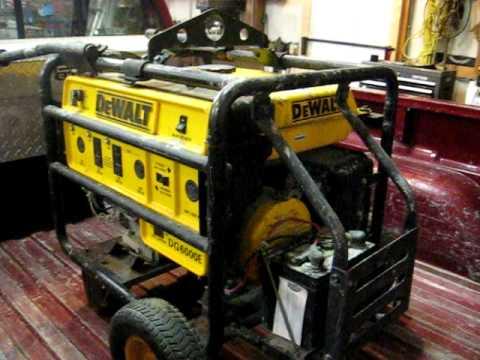 DeWalt DG6000E Generator on