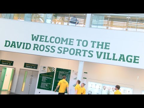 David Ross Sports Village official opening