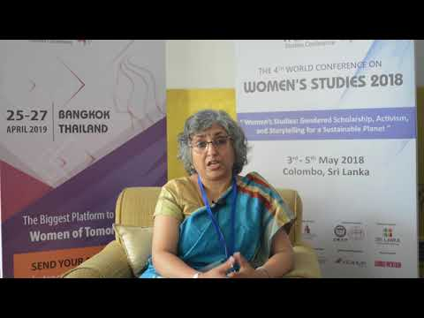 Women  studies | Appeal to the World | Dr. Shewli Kumar Tata Institute of Social Science, India
