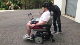 Student Design: ee.motion brain-controlled wheelchair