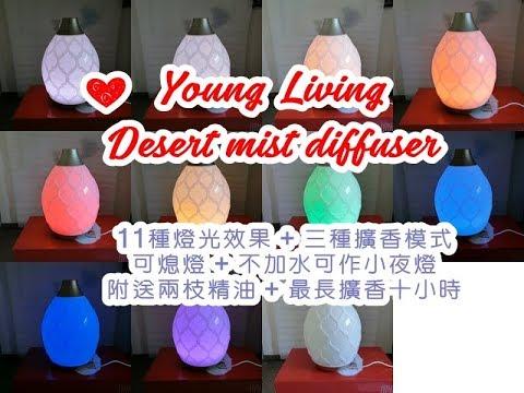 (開箱) Young Living Desert mist diffuser 擴香機