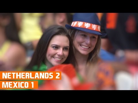 Netherlands vs Mexico (2-1) World Cup 2014 Highlights
