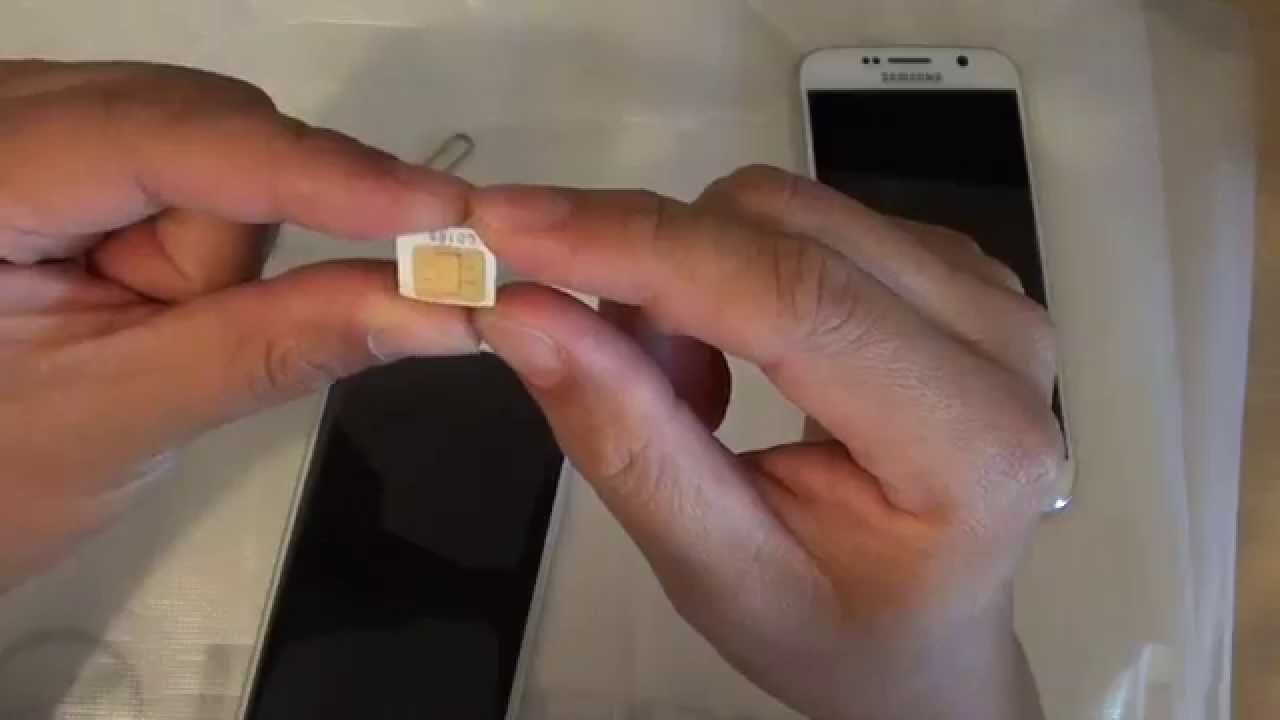 handbag celine - Samsung Galaxy S6 Edge: How to Cut SIM Card into Nano SIM For ...