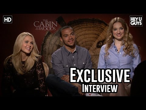 Kristen Connolly, Jesse Williams, Anna Hutchison  The Cabin in the Woods Exclusive