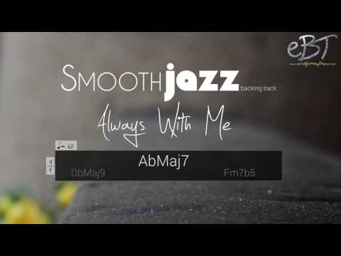 Smooth Jazz Backing Track in Ab Major | 60 bpm