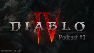 Diablo 4 - Podcast #3 - Das Quartalsupdate September 2020 - Wir Quat...