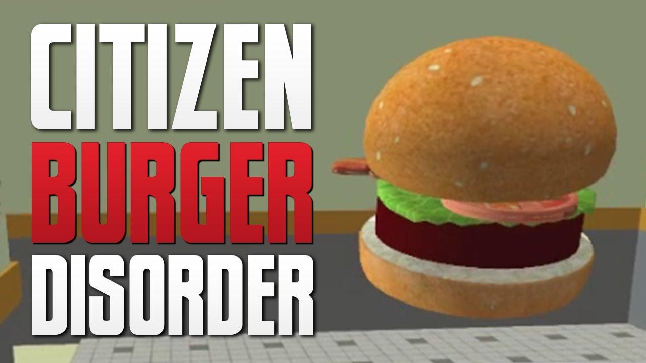 FAST FOOD SIMULATOR - Citizen Burger Disorder - YouTube