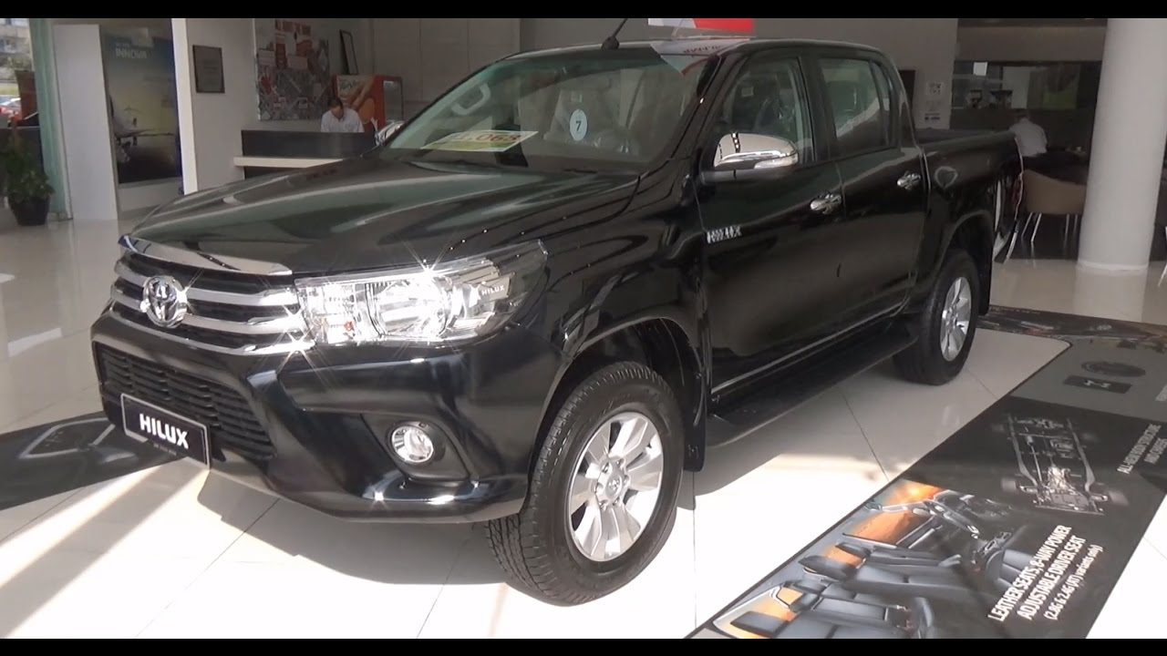 Toyota Hilux Double Cab 2 4g Standard 4x4 2017 Exterior