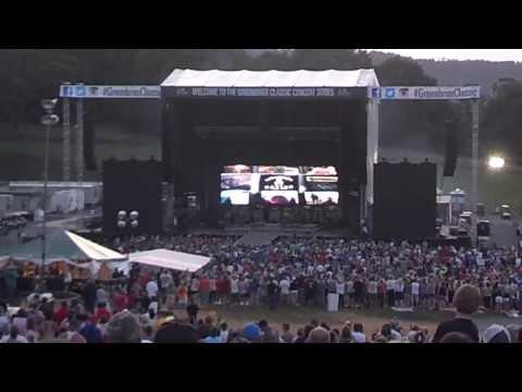 Kenny Chesney concert opening Lewisburg WV