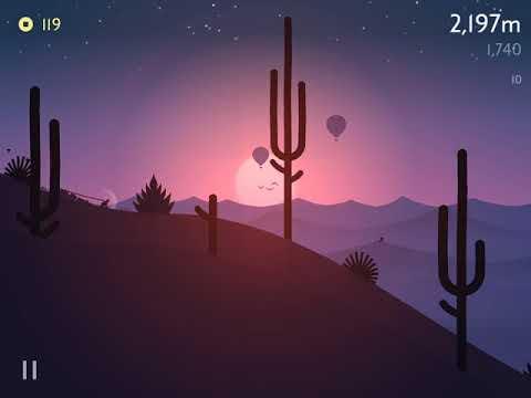 Alto's Odyssey - The Perfect Sequel to Alto's Adventure (gameplay)