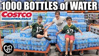 HUGE COSTCO HAUL | We BOUGHT 1000 BOTTLES of WATER | DID WE BUY ALL OF THE WATER BOTTLES at COSTCO?