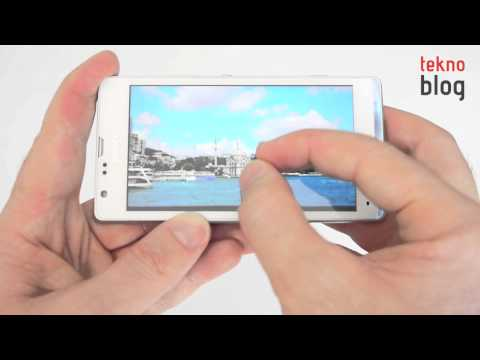 Sony Xperia SP İncelemesi